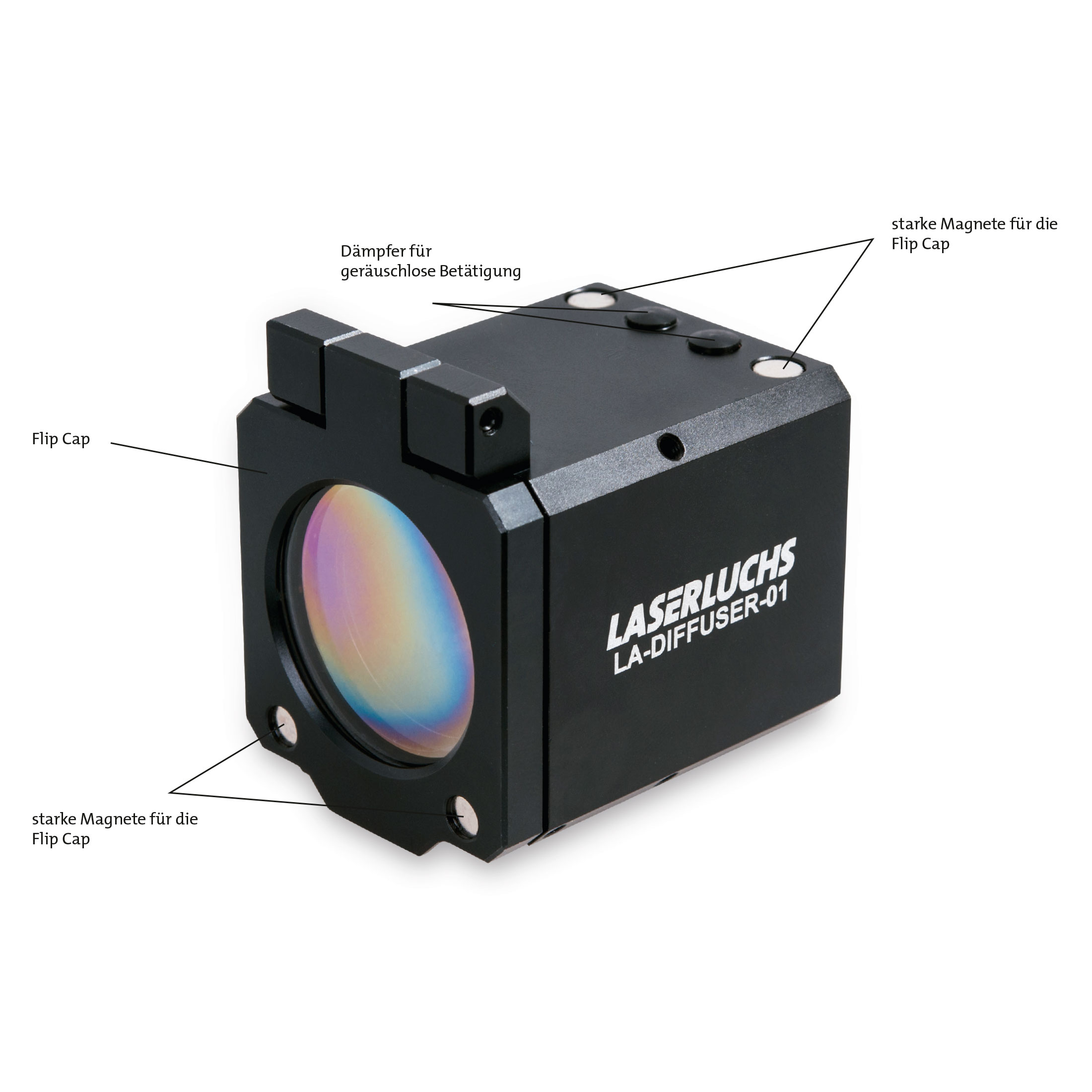 Laserluchs Linsen Tactical LA-DIFFUSER-01